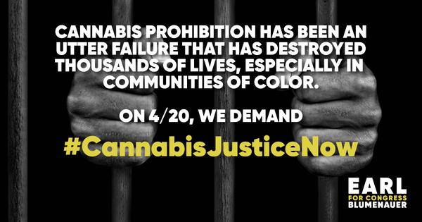 #CannabisJusticeNow